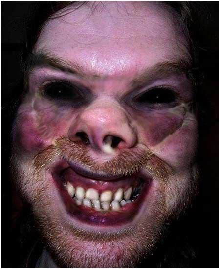 Aphex Mutant Face